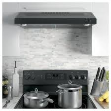 ge under cabinet range hood ge 30 in over the range convertible range hood in black energy