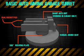 Pod Garage by Auto Aim Garage Turrets Build Your Own Mech Wiki Fandom