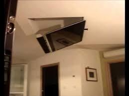 porta tv soffitto tv moving mfl staffa tv motorizzata da soffitto motorized tv