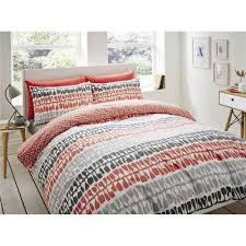 lotta jansdotter follie duvet cover set coral clearance