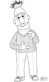 bert coloring page free printable coloring pages