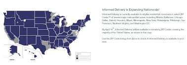 United States Area Code Map by Want To Know What U0027s In The Mail Before It Arrives Usps Informed