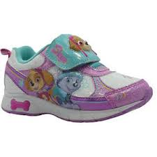 light up shoes size 12 new nwd defect paw patrol light up shoes sneakers size 7 8 or 12