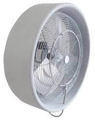 Wall Mounted Oscillating Fans 24 Inch High Output Wall Mount Advanced Mist Fan Misting Fans