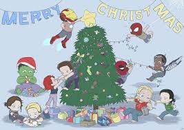 the avengers babies christmas card by silassamle on deviantart