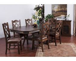 sunny designs dining set w adjustable height dining table su 1151acs