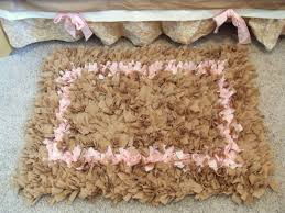 Rag Rugs For Kitchen Sarah U0027s Never Ending Projects Sienna U0027s Shaggy Raggy Rug For