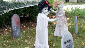 Scary Halloween Decorations Outside by Scary Outdoor Halloween Decorations Scary Halloween Decoration