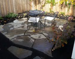 Irregular Stone Patio Pinnaclemaine Maine Landscape And Design Natural