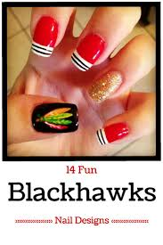 10 best hockey nail designs images on pinterest chicago