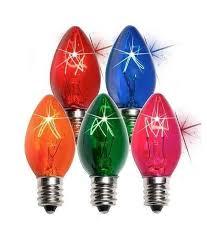 led lights incandescent lights c9 strobe