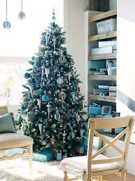 how to decorate a white flocked christmas tree modern decorating