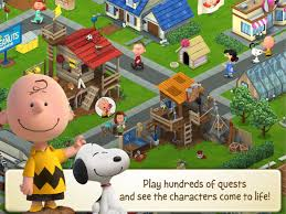 peanuts snoopy u0027s town tale android apps google play
