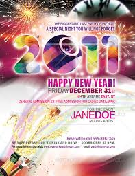 happy new years posters best posters and flyers templates of new year design