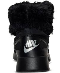 nike winter boots womens canada lyst nike s kaishi winter high sneakerboots from finish