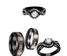 Camo Wedding Ring Sets by Tungsten Cz And Diamond Engagement U0026 Wedding Ring Sets Ebay