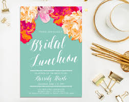 bridesmaid luncheon invitations bridal shower luncheon invitations kawaiitheo