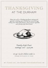 thanksgiving dinner the durham hotel