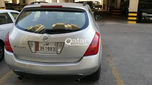 nissan murano qatar living urgent sale nissan murano low mileage no major accident qatar