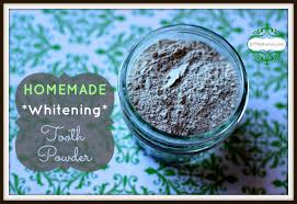 whitening tooth powder a homemade and natural brushing option