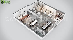 modern office 3d floor plan design 3d floor plan design cg
