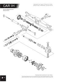 4wd carraro axle suitable for ih page 46 sparex parts lists