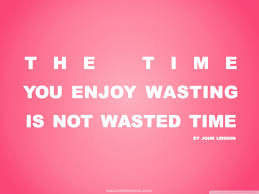 Vs Pink Wallpaper by Time You Enjoy Wasting Is Not Wasted Time Quote Retro Pink Hd