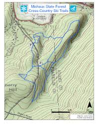 Michaux State Forest Map by Gis Projects Franklin Geoventures