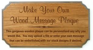 customized plaques with photo custom engraved wooden plaques best carved wooden signs products