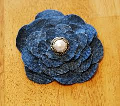 denim flower tutorial