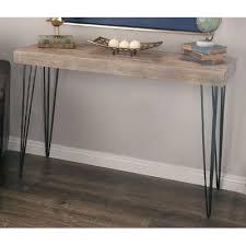 Metal And Wood Sofa Table by Cole U0026 Grey Metal Wood Console Table U0026 Reviews Wayfair