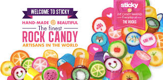 where to find rock candy sticky candy artisans customised rock candy for weddings