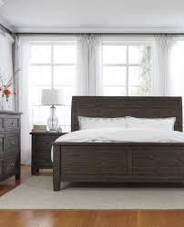 7 piece solid pine wood king bed dresser mirror nightstand