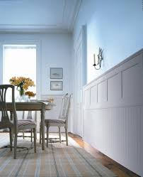 wainscoting trim ideas freimore table and stools area black cement