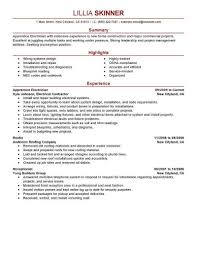 fashion resume format journeyman electrician resume highway maintenance cv examples best apprentice electrician resume example livecareer with regard to electrician resume format download
