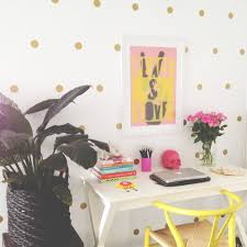 honey and fizz polka dot wall stickers polka dot wall stickers