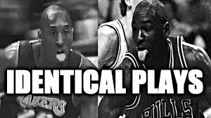 Kobe Lebron Jordan Meme - kobe bryant vs michael jordan identical plays youtube
