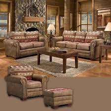 American Furniture Classics Sierra Lodge  Piece Living Room Set - American furniture living room sets
