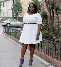 white skater dress plus size 2016 2017 b2b fashion