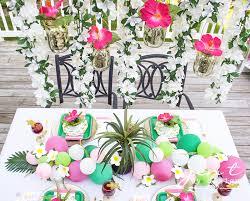 brunch bridal shower ideas tropical bridal shower idea palm trees and paradise bridal brunch