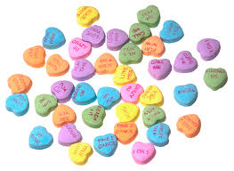 valentines heart candy sayings heart candy messages for the top seven sports bromances on