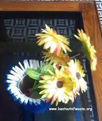 Best Out Of Waste Flower Vase Best Out Of Waste Newspaper Vase