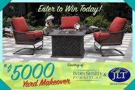 Backyard Makeover Sweepstakes by Garden Design Garden Design With Win A Backyard Makeover On