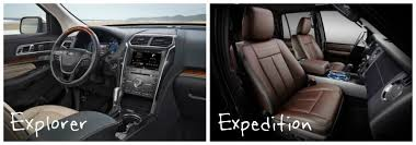 Ford Explorer 2015 Interior Differences Between The 2016 Ford Explorer And Expedition
