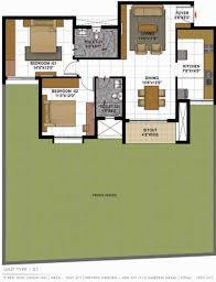Casa Bella Floor Plan by 1404 Sq Ft 2 Bhk 2t Resale Apartment On Ground Floor Rs In 64 58