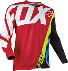 fox motocross uk 2017 fox creo 360 motocross jersey red 1stmx co uk