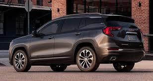 gmc terrain back seat 2018 gmc terrain gains refinement consumer reports