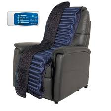 alternating pressure lazy boy recliner overlay by blue chip