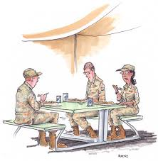 military cartoons about the armed forces reader u0027s digest