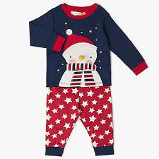 buy lewis baby snowman pyjamas blue lewis